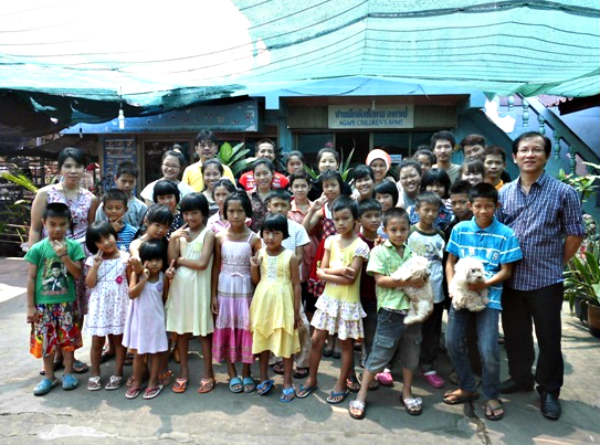 CHIANG RAI ORPHANAGE-SPONSORED BUFFET LUNCH FOR ORPHAN