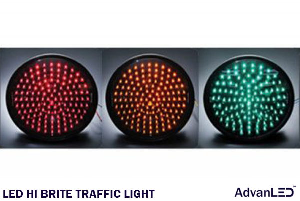 LED HI BRITE TRAFFIC LIGHT