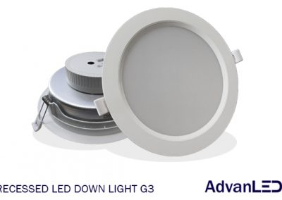 RECESSED DOWN LIGHT G3