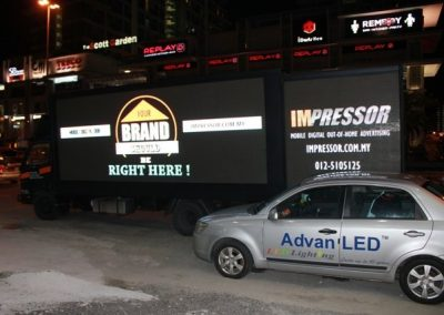LED TRUCK DISPLAY @ KLANG VALLEY