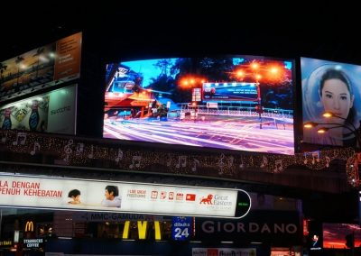 THE LARGEST SMD LED ADVERTISING BILLBOARD