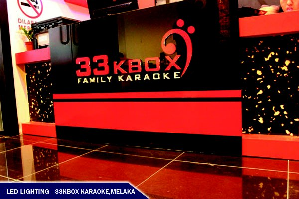LED LIGHTING @33KBOX FAMILY KARAOKE