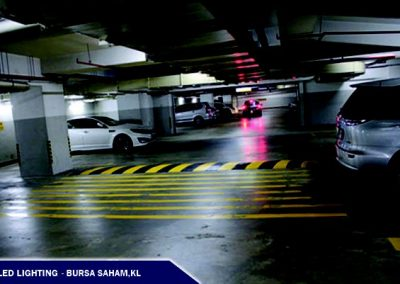 LED LIGHTING @BURSA SAHAM CAR PARK,KL