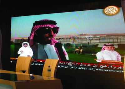 INDOOR FULL COLOUR DISPLAY BOARD @ ABU DHABI, U.A.E