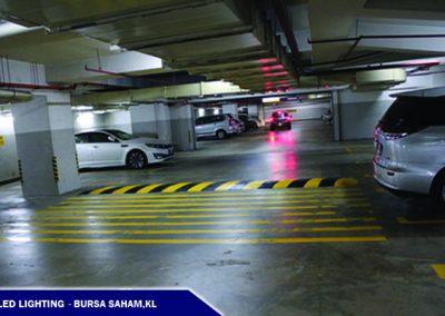 LED LIGHTING @BURSA SAHAM CAR PARK,KL