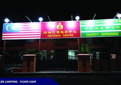 LED LIGHTING@ADVERTISE SIGNBOARD FLOOD LIGHT
