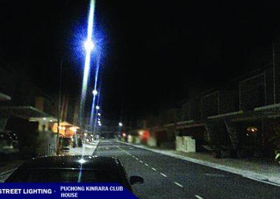 LED STREET LIGHT @PUCHONG KINRARA CLUB HOUSE