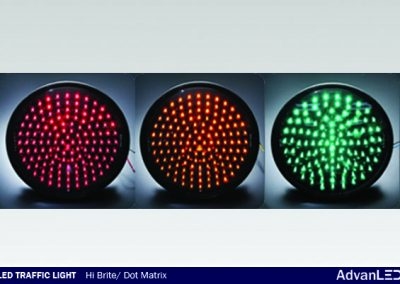 LED TRAFFIC LIGHT DOT MATRIX