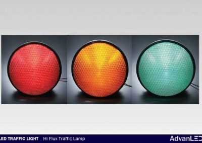 LED TRAFFIC LIGHT HI FLUX