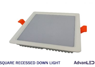 SQUARE RECESSED DOWN LIGHT