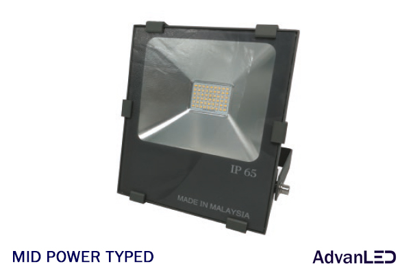 MID POWER TYPED LED FLOOD LIGHT
