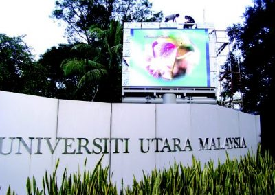 FULL COLOUR DISPLAY BOARD @ UNIVERSITY UTARA MALAYSIA (UUM)
