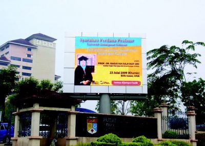 FULL COLOUR DISPLAY BOARD @ PPUKM (HUKM), KL
