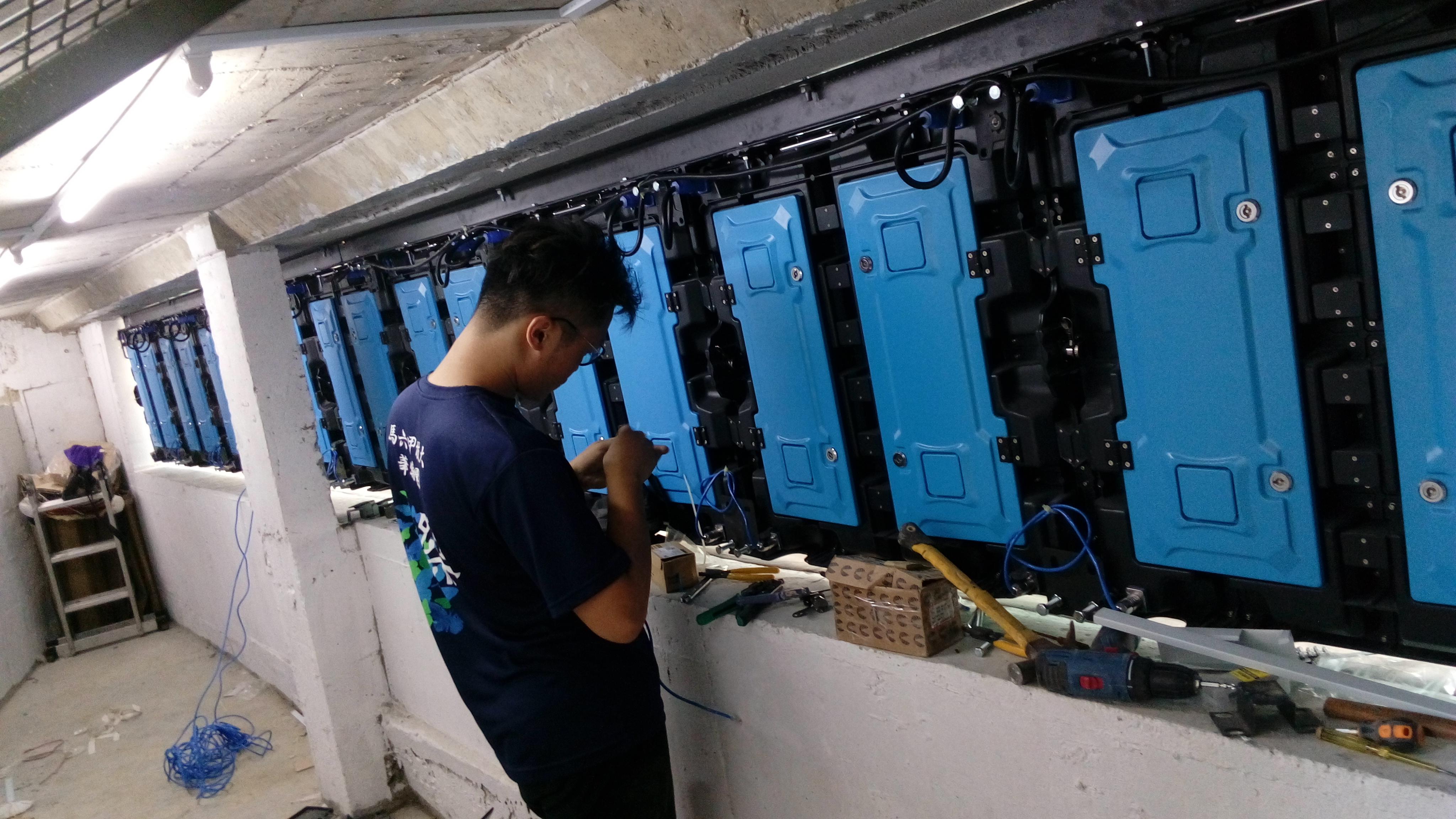 Led Display Lighting Manufacture Vision Malaysia Wiring Lampu Pendaflour H2o Residence Ara Damansara Outdoor Project