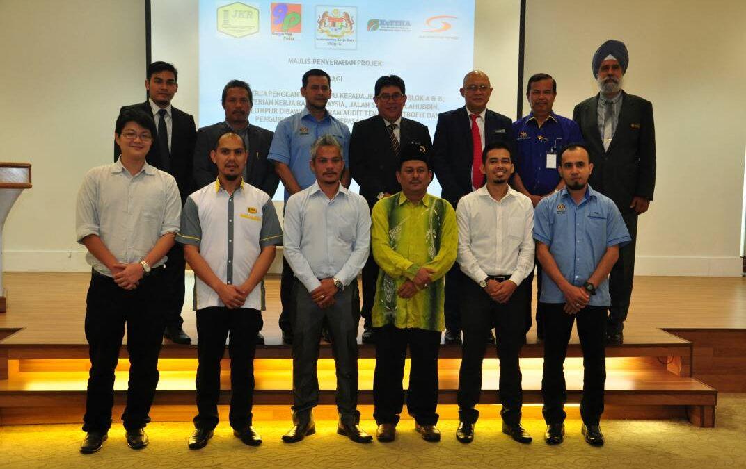 Kementerian Kerja Raya Malaysia (KKR)@Block A and Block B