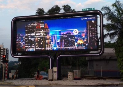BIGTREE OUTDOOR LED DISPLAY – CUBIG, BANGSAR