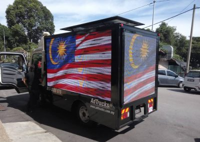 MATA LANGGIT OUTDOOR TRUCK DISPLAY