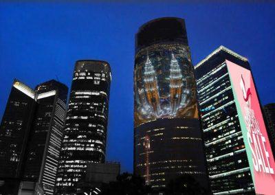 LED Building